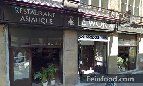, 鼎鼎, Restaurant Asiatique Le WOK