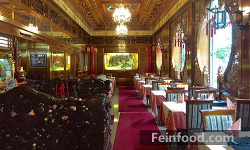 卢塞恩上海3餐厅内景