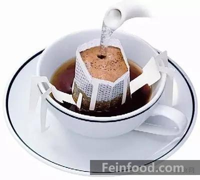 滤泡式咖啡的冲泡步骤